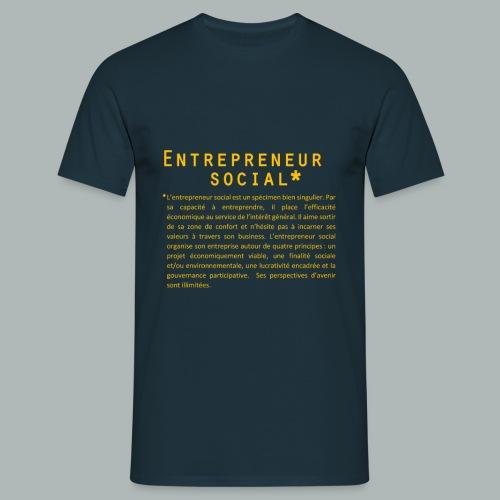 Définition Entrepreneur social