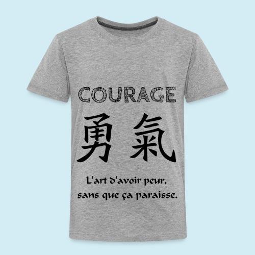 Courage - T-shirt Premium Enfant