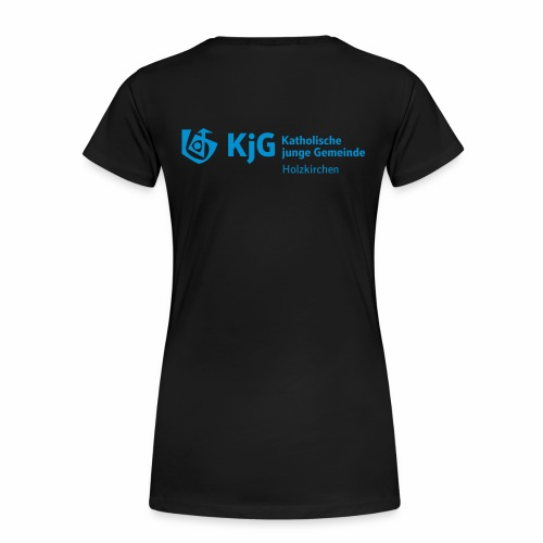 KjG Holzkirchen T-Shirt Logo Langversion Girl - Frauen Premium T-Shirt