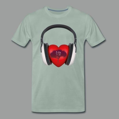 Shirt Litz-Earpods - Männer Premium T-Shirt
