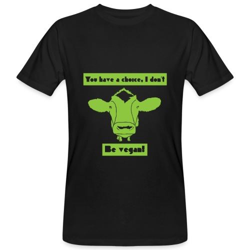 Be Vegan Bio-T-Shirt Men - Men's Organic T-Shirt