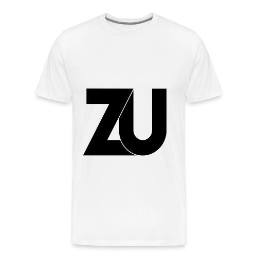 T-Shirt - Zwart Logo (Mannen) - Mannen Premium T-shirt