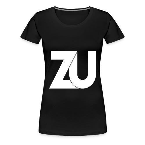 T-Shirt - Wit Logo (Vrouwen) - Vrouwen Premium T-shirt