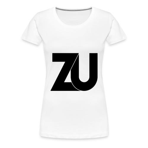T-Shirt - Zwart Logo (Vrouwen) - Vrouwen Premium T-shirt