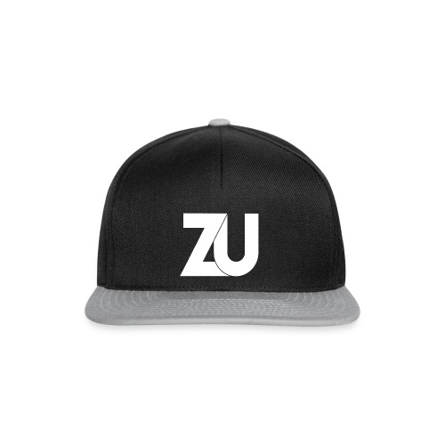 Snapback - Zwart Logo - Snapback cap