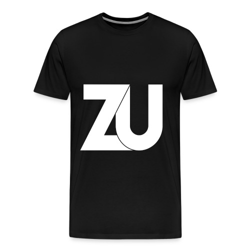 T-Shirt - Wit Logo (Mannen) - Mannen Premium T-shirt