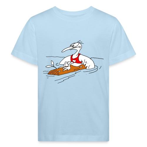 Paddel Vogel - Kinder Bio-T-Shirt