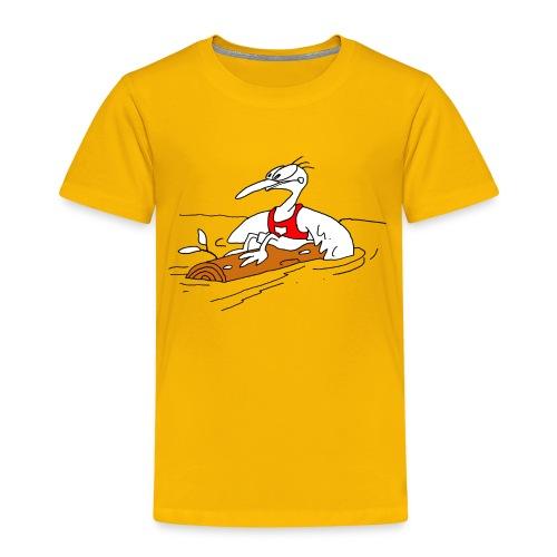 Paddel Vogel - Kinder Premium T-Shirt