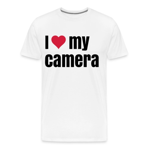 I Love my Camera T-Shirt - Men's Premium T-Shirt