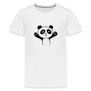 Panda Hug T-Shirts - Teenager Premium T-Shirt