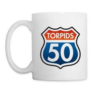 Torpids 50 Jahre - Tasse