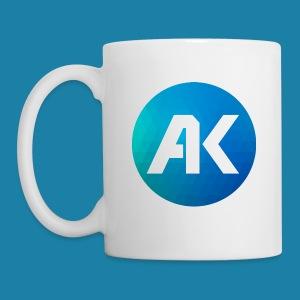AK Tasse Logo Rund weiß - Tasse