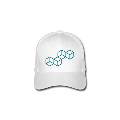 casquette motif cube relief - Casquette Flexfit