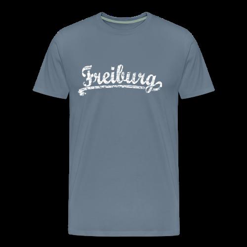 Freiburg Classic Vintage (Weiß) S-5XL T-Shirt - Männer Premium T-Shirt