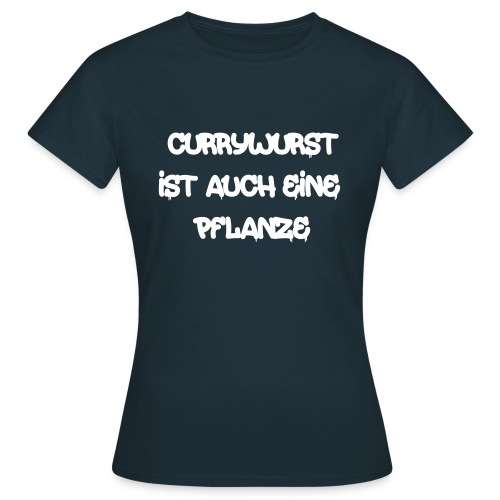 Currywurst - Frauen T-Shirt