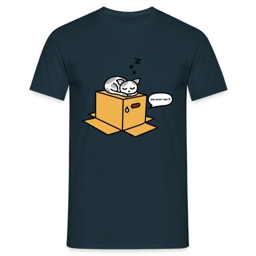 Metal gear cat - T-shirt Homme