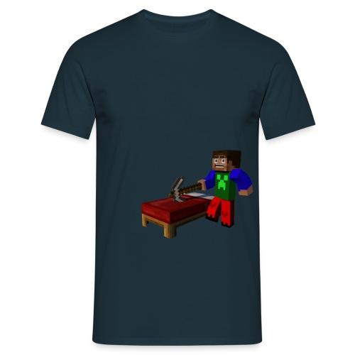 BrickMinerHD - Männer T-Shirt