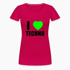 I LOVE TECHNO 2 T-Shirts