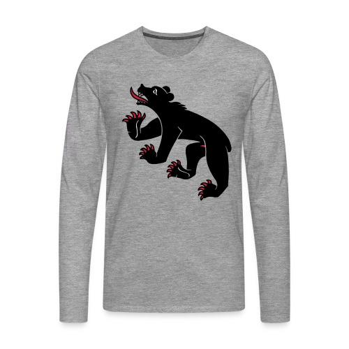 Bernerbär Langarm-Shirt - Männer Premium Langarmshirt