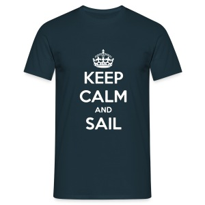 Keep calm  and sail HW LMV TM - T-shirt Homme