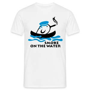 Smoke on the water - T-shirt Homme