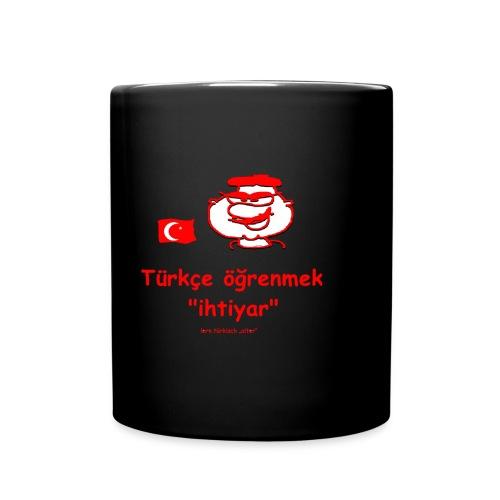 lern Türkisch Alter - Tasse einfarbig