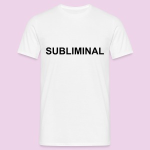 TEE-SHIRT HOMME SUBLIMINAL BASIC - T-shirt Homme