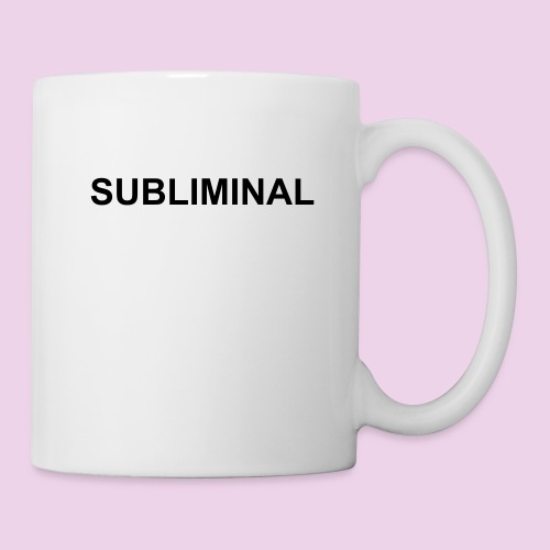 MUG SUBLIMINAL BASIC - Mug blanc