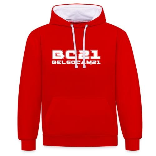 Sweat Cap BC21 - Sweat-shirt contraste