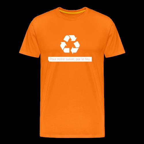 Orange Premium Cleaners - T-shirt Premium Homme