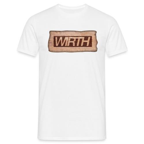 WoodBurned - Männer T-Shirt