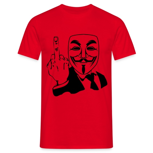 Anonymous - Männer T-Shirt