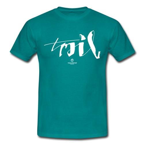 Trail Brush - Männer T-Shirt