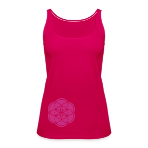 Seed of Life Tops - Frauen Premium Tank Top