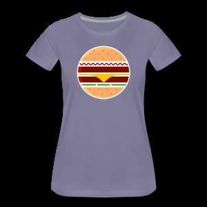 Circle Burger - Girl - Maglietta Premium da donna