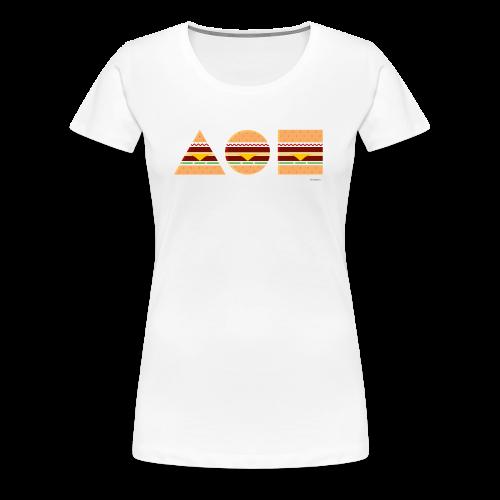 Graphic Burger - Girl - Maglietta Premium da donna