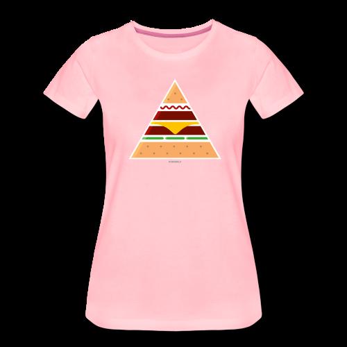Triangle Burger - Girl - Maglietta Premium da donna