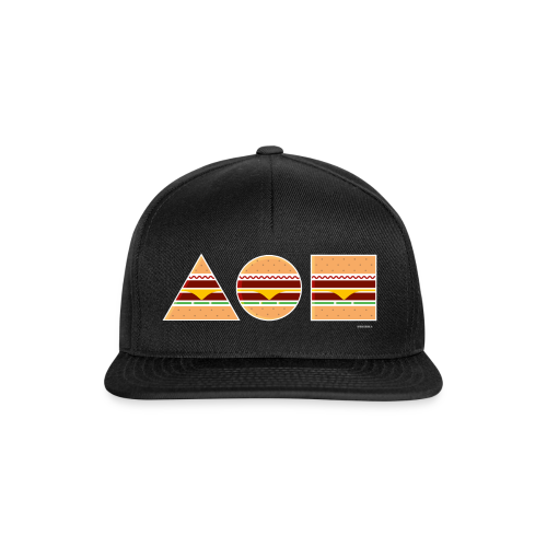 Graphic Burger  - Snapback Cap