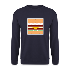 Square Burger  - Felpa da uomo