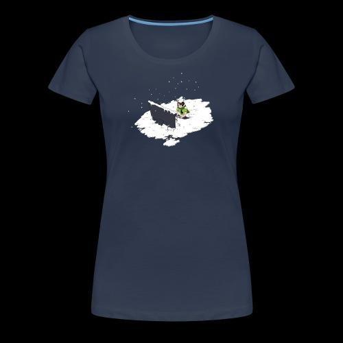 WT F - Women's Premium T-Shirt