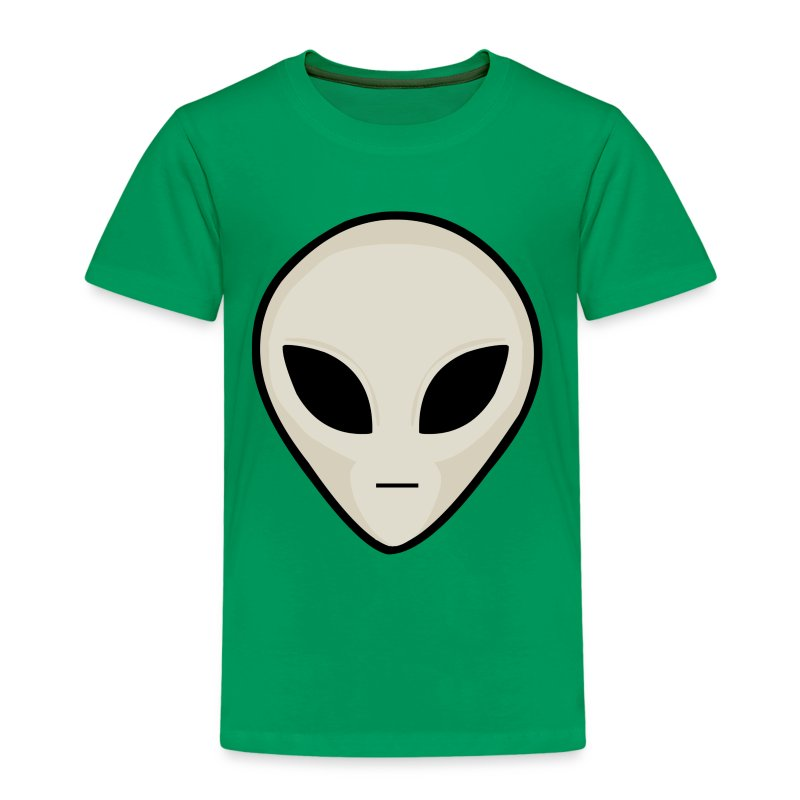 UFO Alien Head - Kids' Premium T-Shirt
