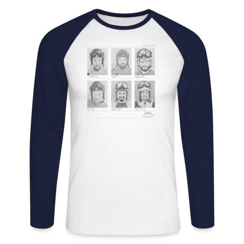 JC-Group-Baseballshirt - Männer Baseballshirt langarm