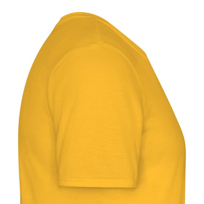 "T-shirt homme jaune ""katana & blood"""