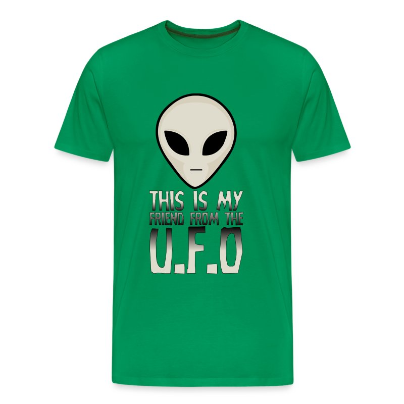 My Friend From The UFO - Men's Premium T-Shirt