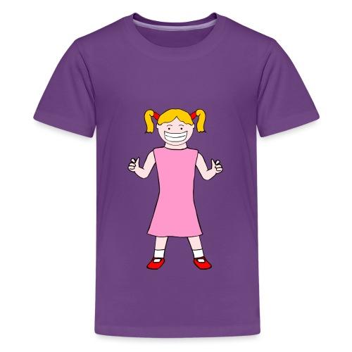 Trudy Walker Standing - Teenage Premium T-Shirt