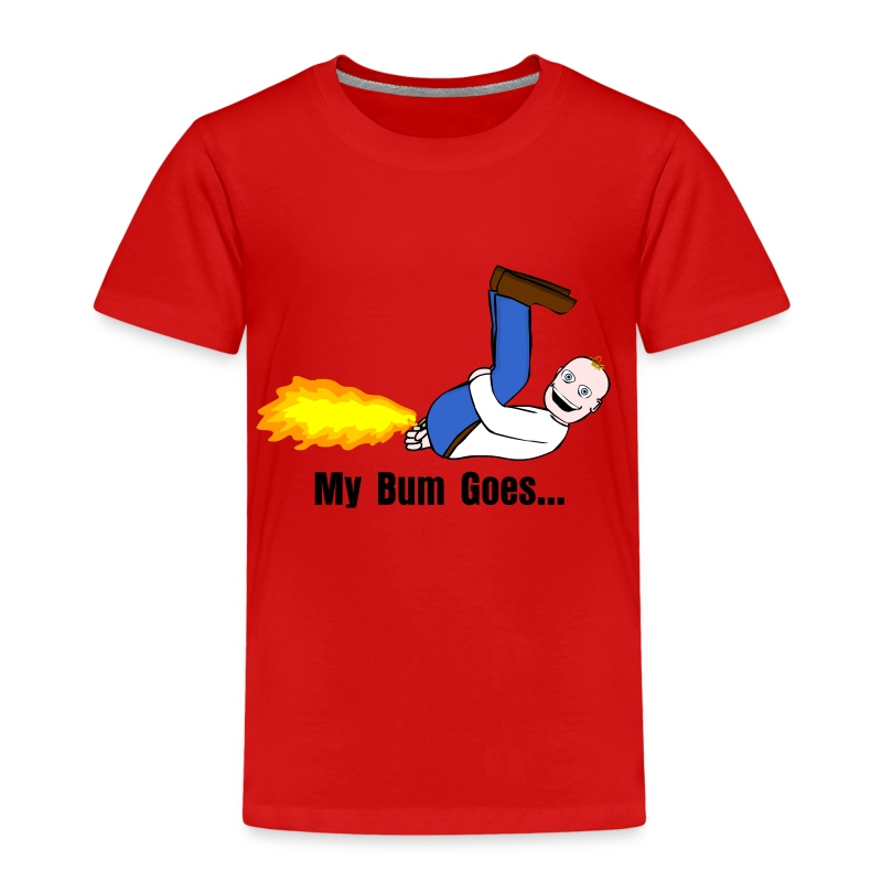 My Bum Goes - Kids' Premium T-Shirt
