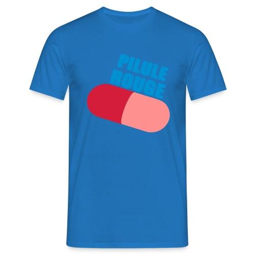 Pilule rouge - T-shirt Homme