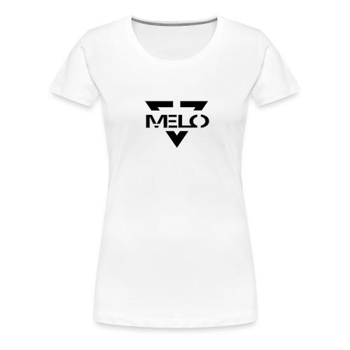 Melo Noir/Blanc Femme - T-shirt Premium Femme