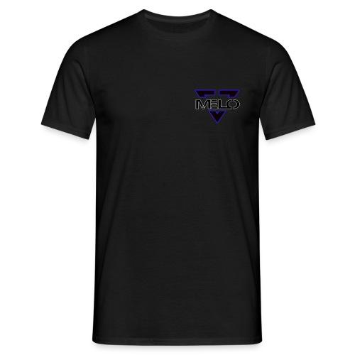 Melo Bleu/Blanc Homme - T-shirt Homme