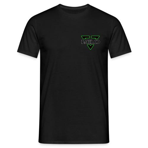 Melo Vert/Blanc Homme - T-shirt Homme